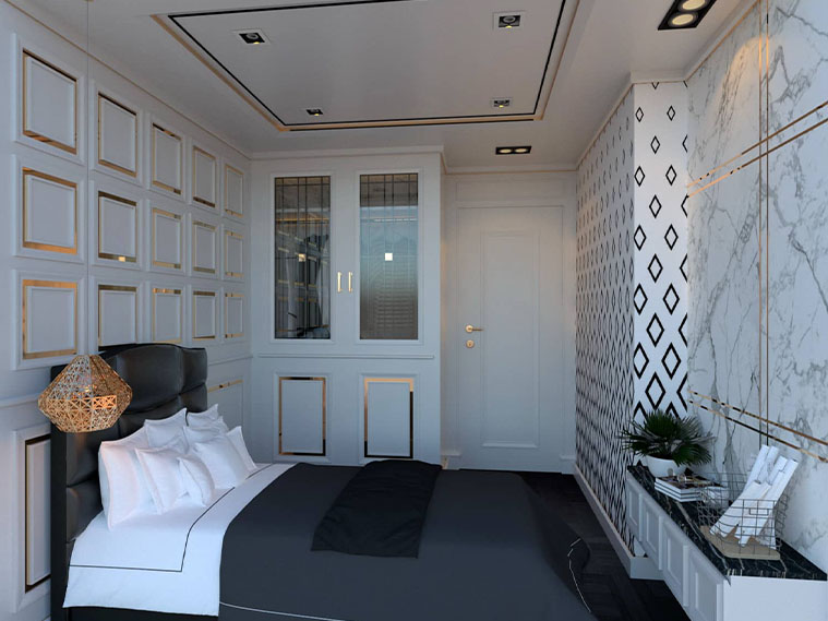 งานออกแบบคอนโด : Lumpinee Condominium