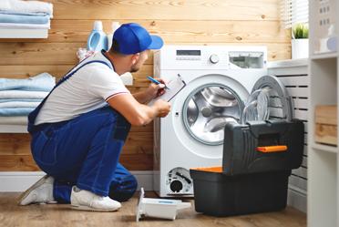 บริการล้างเครื่องซักผ้าฝาหน้าอัตโนมัติ ขนาดไม่เกิน 15 กก.