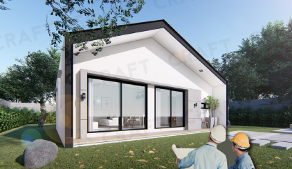 บริการสร้างบ้านทั้งหลังพร้อมแบบขออนุญาต by design connext