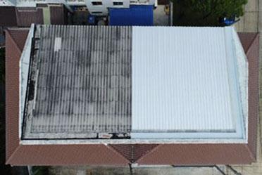 บริการซ่อมรั่วหลังคาทาวน์เฮ้าส์ ทาวน์โฮม (Top Up roof) by SCG