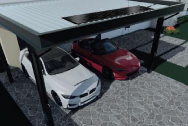 SCG smart carport สไตล์โมเดิร์น