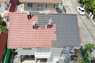 บริการทาสีหลังคา (Roof Repaint) by SCG