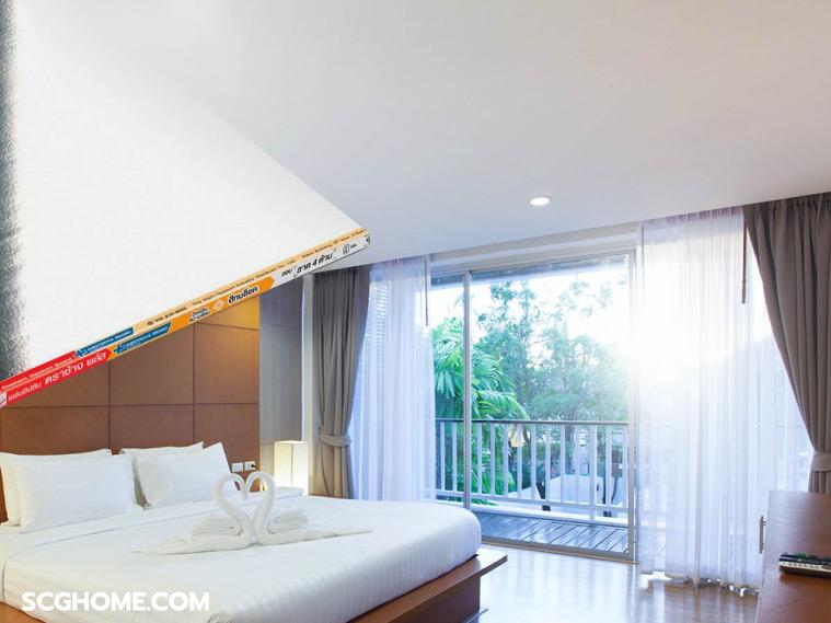 บ้านร้อน บ้านเย็น หลังคากันร้อน กันความร้อนที่หลังคา ฝ้ากันความร้อน ฝ้าเพดานกันความร้อน แผ่นฝ้ากันความร้อน