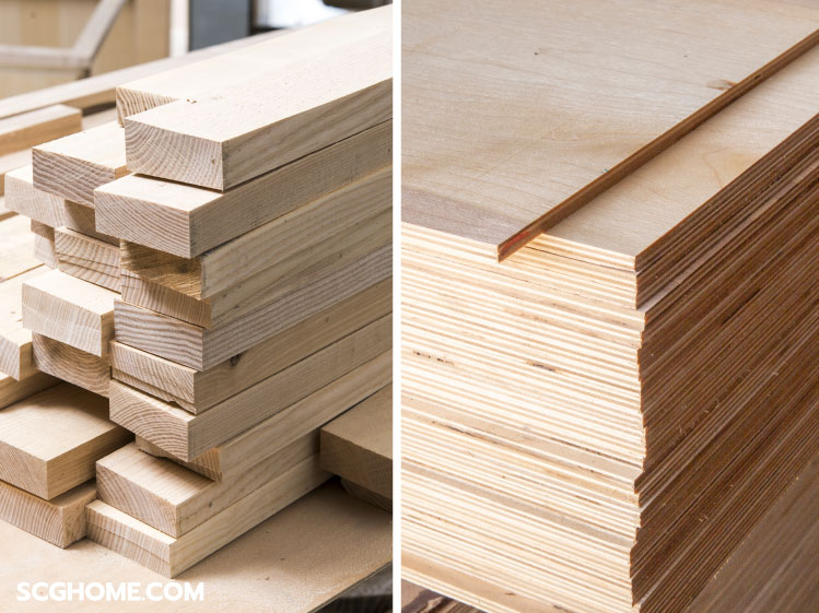 ไม้โครง ไม้อัด Plywood