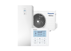 Panasonic Aquarea All-In-One 185L boiler J-seeria Kliimamarket