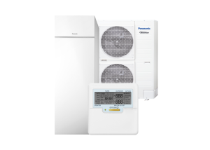 Panasonic Aquarea All-In-One T-CAP 185L boiler Kliimamarket