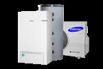 Samsung EHS Split + DHW tarbeveeboiler Kliimamarket