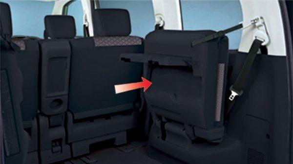 Penyimpanan Ekstra Nissan Serena dengan Smart-up 3rd Row Seat