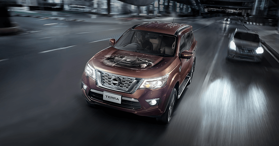 The All New Nissan Terra Engine