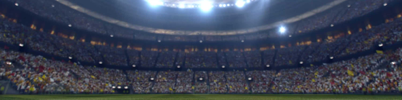 Stadium with lights