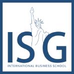 logo ISG - International Business School, campus Paris-ouest