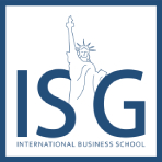 logo ISG - International Business School, campus de Bordeaux