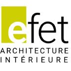 logo EFET architecture intérieure