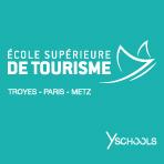 Logo École Supérieure de Tourisme Troyes Paris Metz