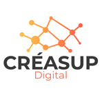Logo CRÉASUP Digital