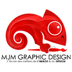 Logo MJM GRAPHIC DESIGN RENNES