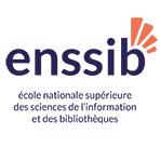 Logo École nationale supérieure des sciences de l'information et des bibliothèques (Enssib)
