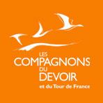 Logo Les Compagnons du Devoir et du Tour de France