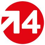 Logo Le Quatre, école de design et de création publicitaire