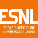 Logo ESNL - École Supérieure du Numérique des Landes