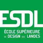 Logo ESDL - École Supérieure de Design des Landes