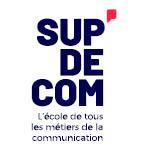 Logo SUP'DE COM Lyon,l'école de tous les métiers de la communication.