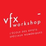 Logo VFX-Workshop, l'école des effets spéciaux numériques
