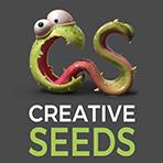 Logo Creative seeds - 3D, cinéma, cinéma d'animation, école spécialisé, Artistique, audiovisuel, école d'art, création numérique, images de synthèse, film