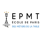 Logo EPMT - ECOLE DE PARIS DES MÉTIERS DE LA TABLE - hôtellerie, restauration, boulangerie, pâtisserie, chocolaterie