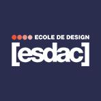 Logo ESDAC, école supérieure de design, arts appliqués et communication