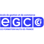 Logo de EGC Lille - Business School, Ecole de commerce