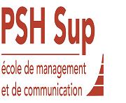 Logo P.S.H SUP école de Management et de Communication