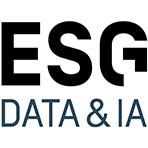Logo ESG Data & IA-Ecole de commerce