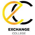 Logo Exchange College, Ecole de Banque, Assurance, Finance