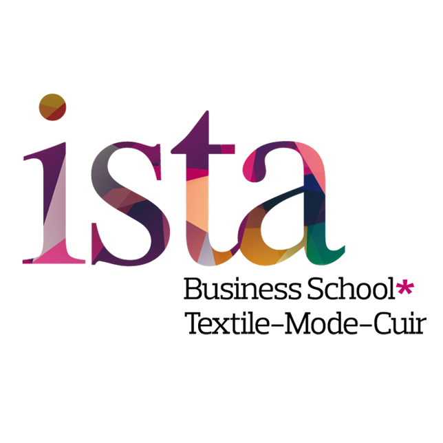 Logo ISTA Business School Textile Mode Cuir