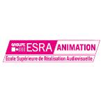 Logo ESRA ANIMATION  - Ecole Supérieure des Techniques d'Animation - Groupe ESRA