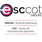Logo ESCCOT Groupe CFA & Ecole de Commerce