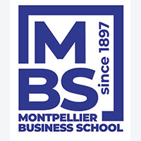 Logo Montpellier Business School (Business School, Ecole de commerce, Bachelor, Master, Programme Grande Ecole, Masters of Science, Finance, Marketing)