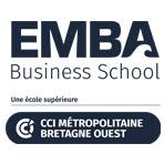 Logo EMBA ECOLE DE MANAGEMENT BRETAGNE ATLANTIQUE