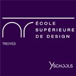 Logo Ecole Supérieure de Design de Troyes