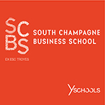 Logo SCBS - South Champagne Business School