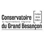 Logo Conservatoire à Rayonnement Régional du Grand Besançon