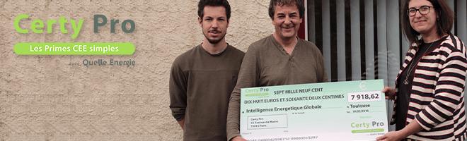 CertiNergy franchi le cap des 50 M€ d'euros de primes CEE