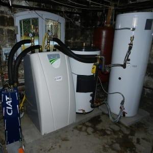 installation PAC géothermie sur nappes phréatique en Île de France