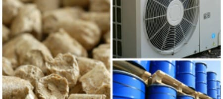 Chaudière condensation Fioul, PAC air-eau ou Chaudière à granulés ?
