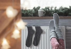Confort et chaleur d'un radiateur à eau