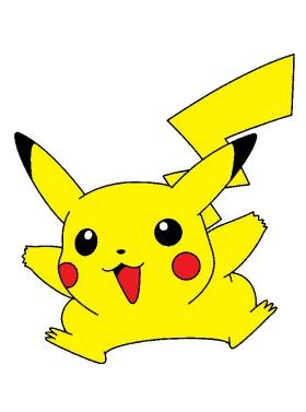 Pokémon de type électrique : Pikachu