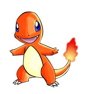 Pokémon de type feu : Salamèche