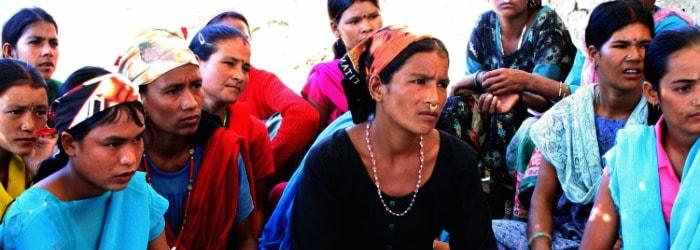Les femmes face aux changements climatiques