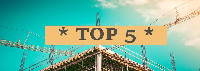 Le top 5 des travaux de rénovation en 2017